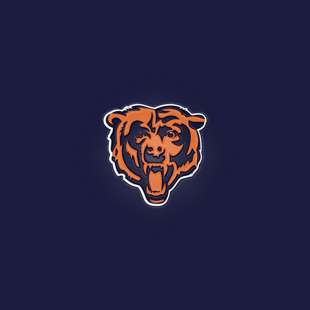 Chicago Bears Logo Wallpaper Wallpapersafari