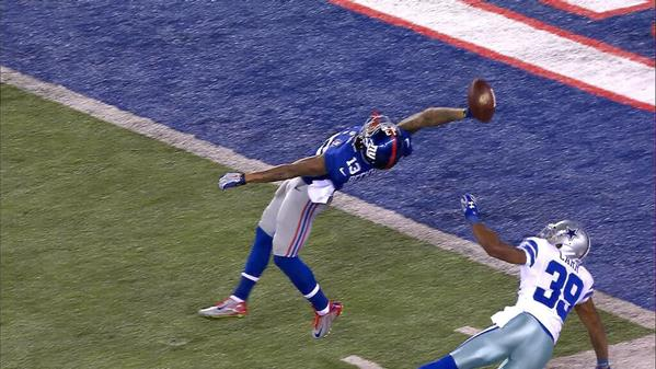 Odell Beckham made one of the greatest catches in the history of the 599x337