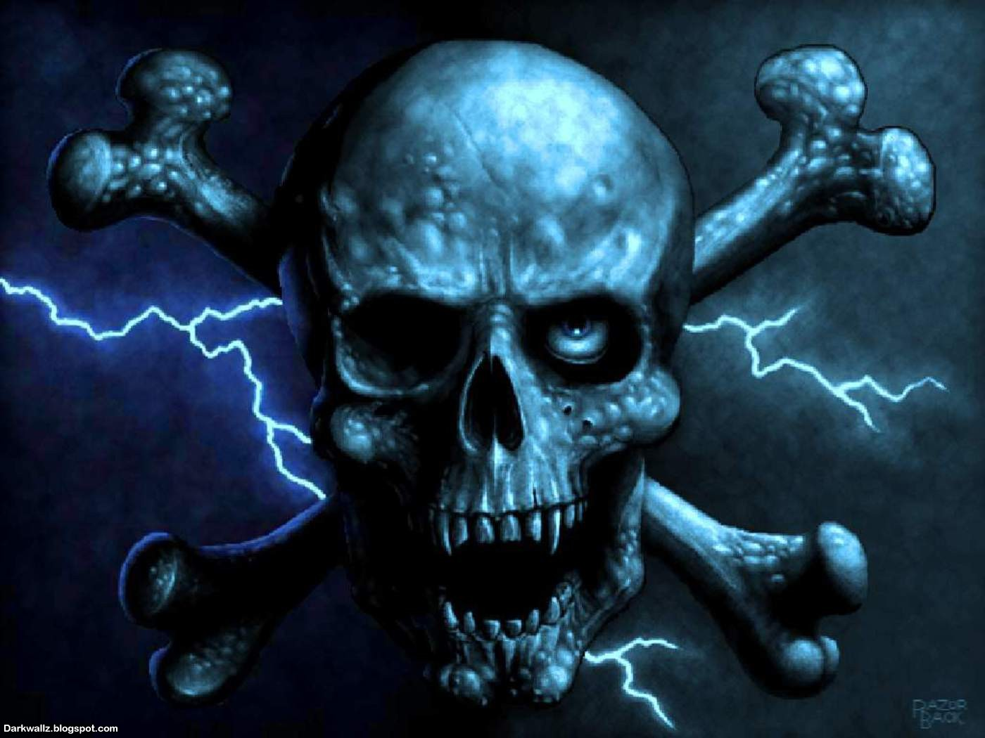 Scary Skulls Wallpaper wallpaper Scary Skulls Wallpaper hd 1400x1050