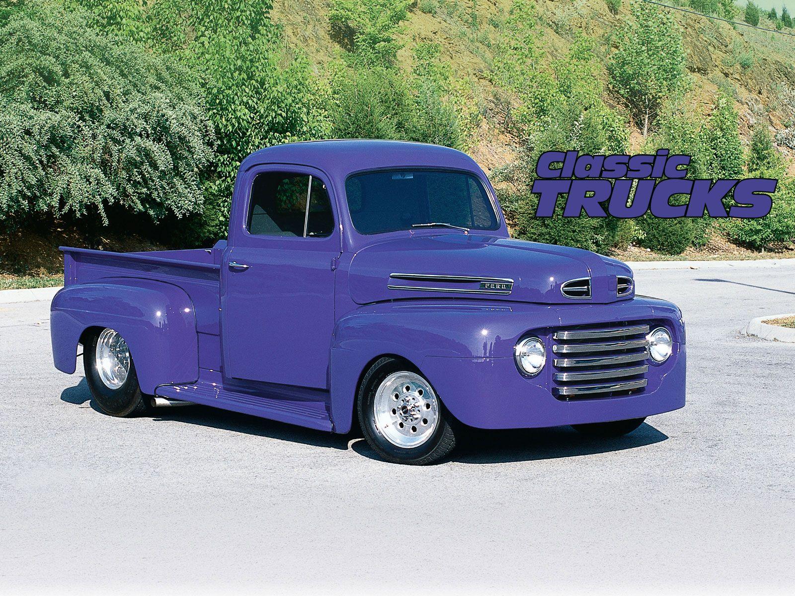 Wallpaper Old Trucks 1600x1200