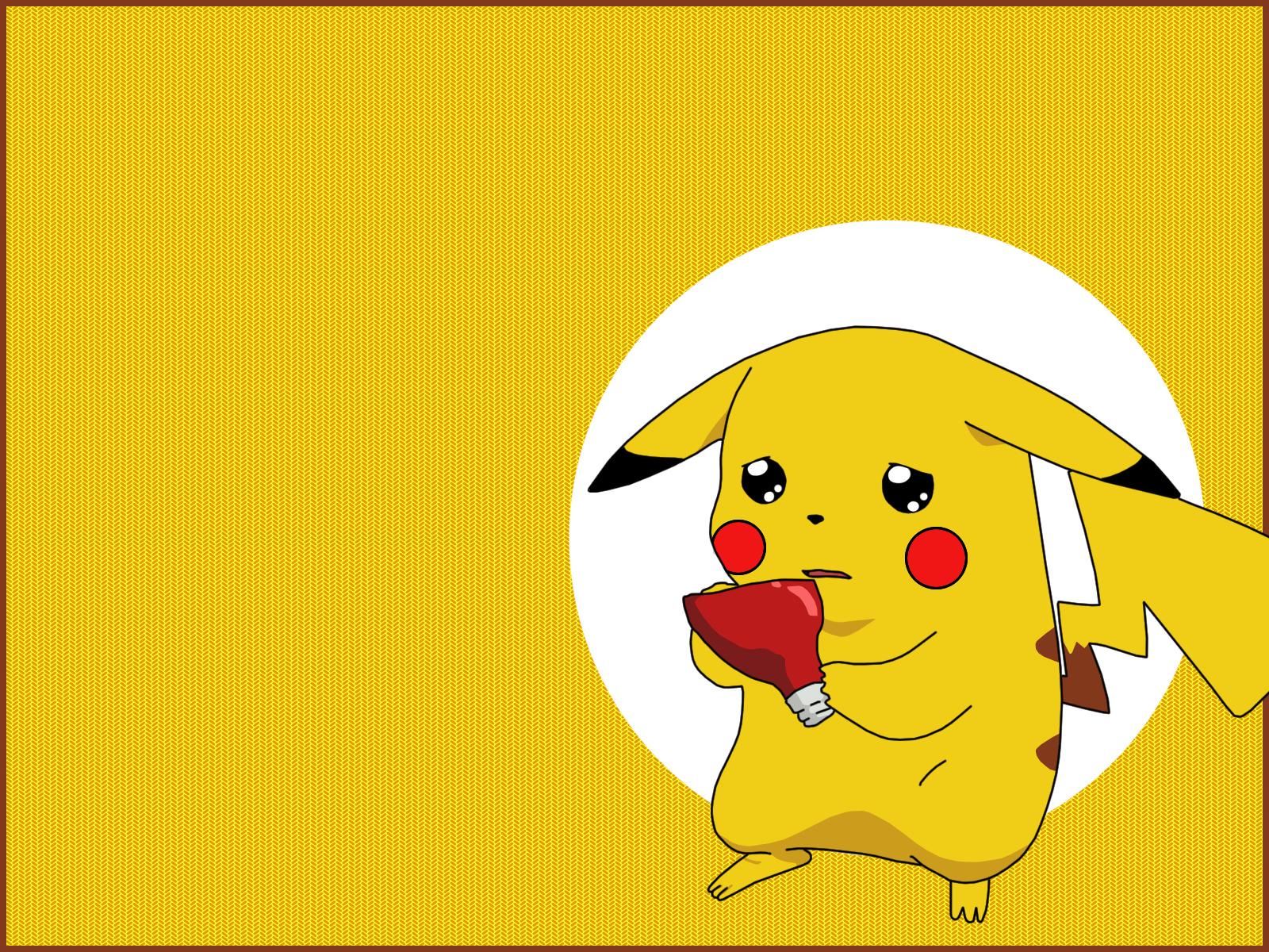 Pokemon Pikachu Wallpaper 1600x1200 Pokemon Pikachu 1600x1200