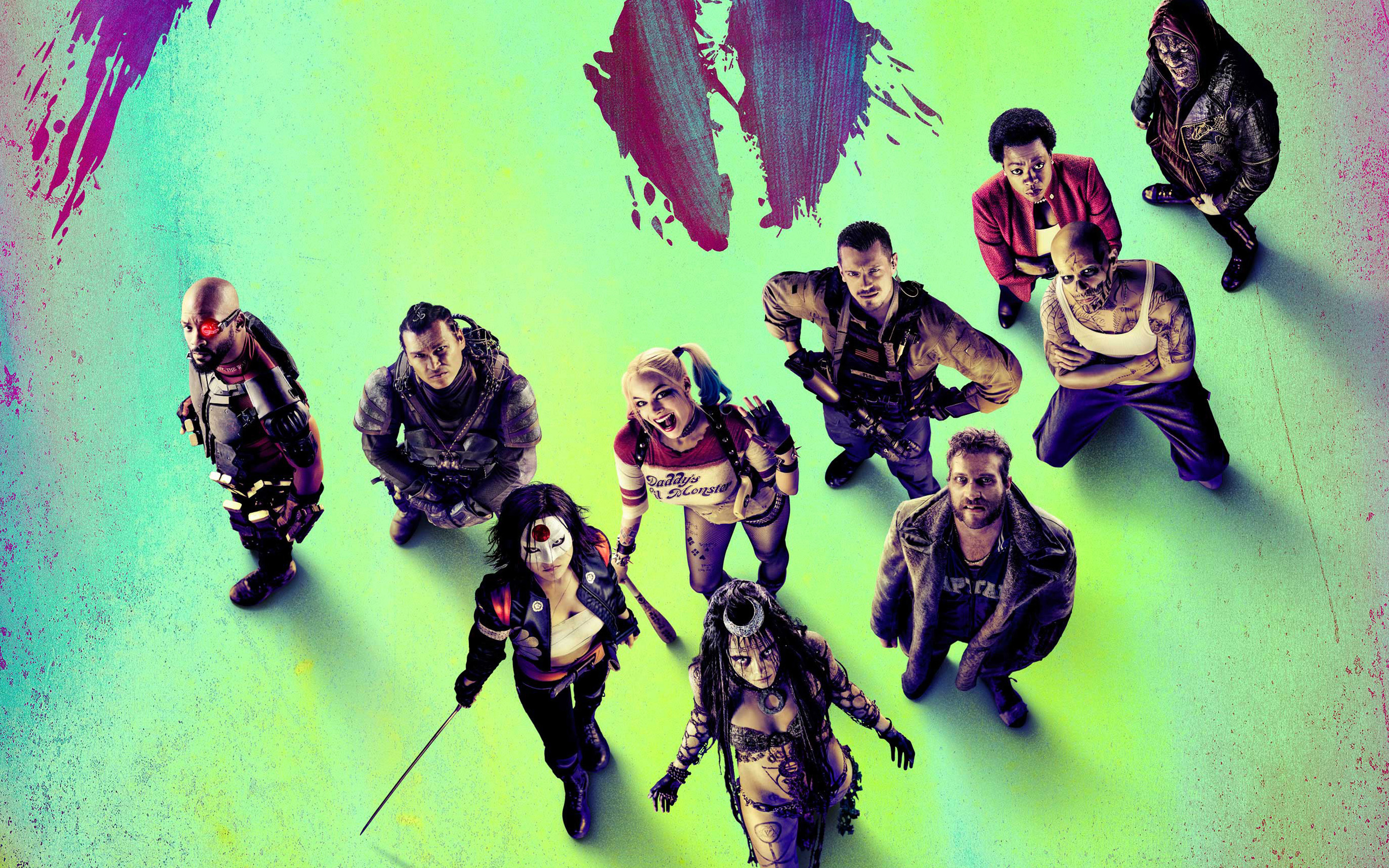 Suicide Squad Wallpapers HD Wallpapers 2880x1800