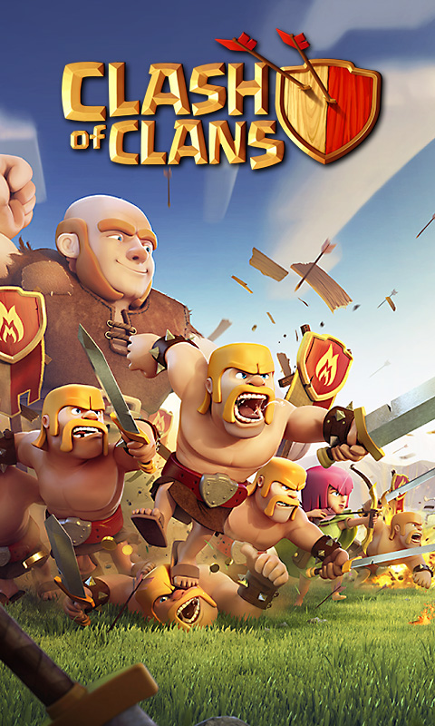 Wallpapers Clash of Clans Pocket Gamer Game Hub 480x800