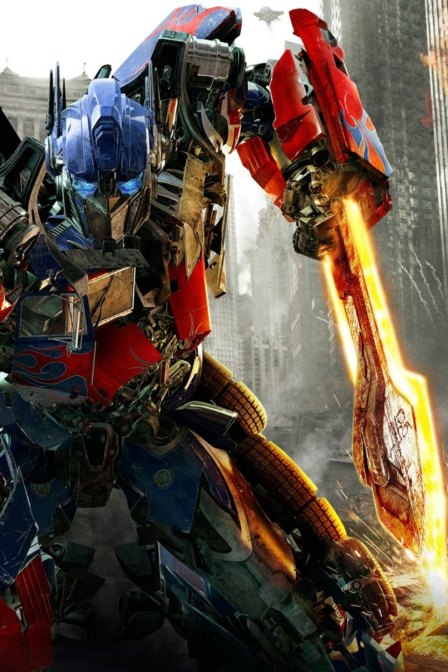 Prime in Transformers 3 iPhone 4 Wallpaper and iPhone 4S Wallpaper 640x960