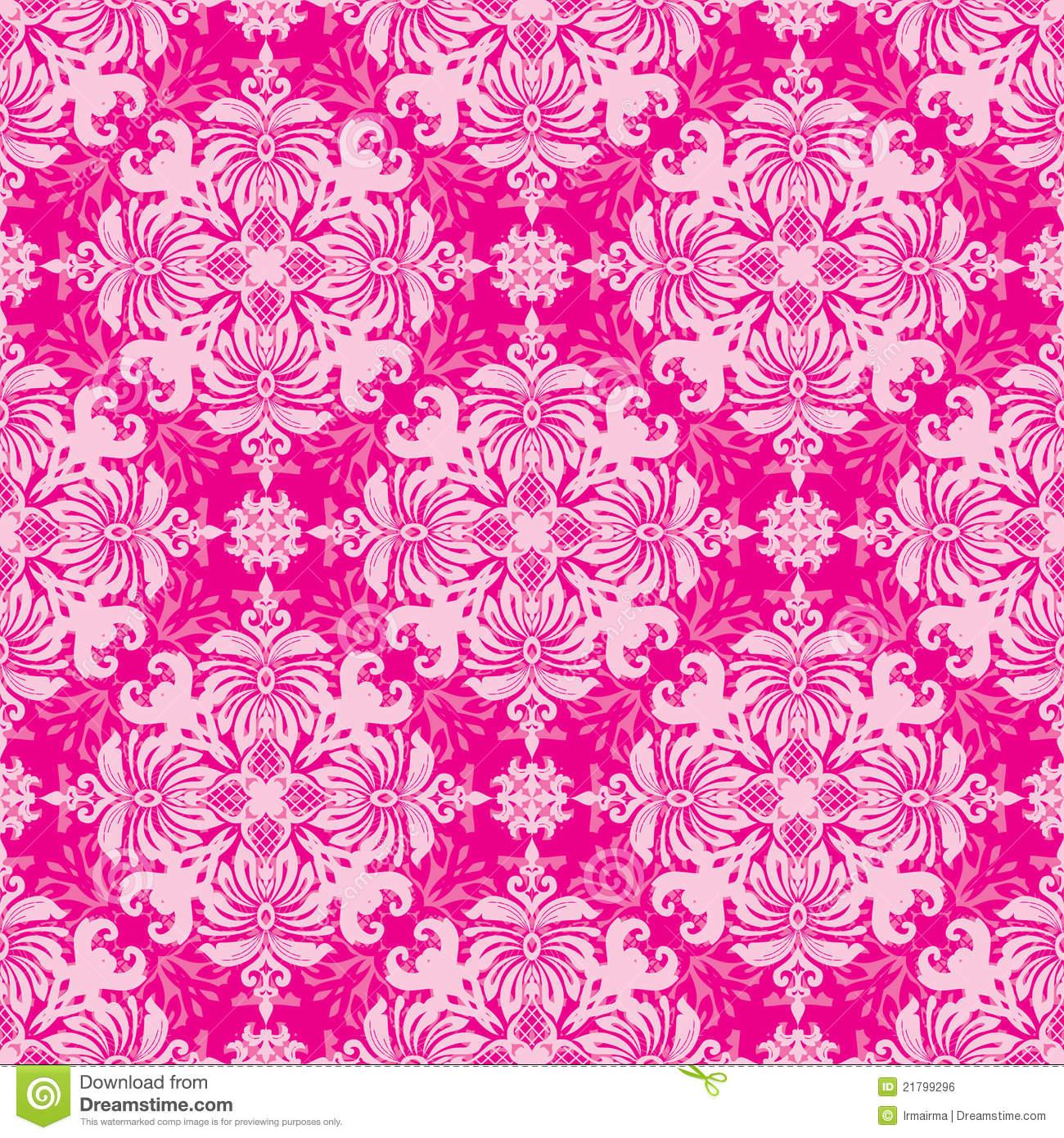 Pink Retro Wallpaper Wallpapersafari