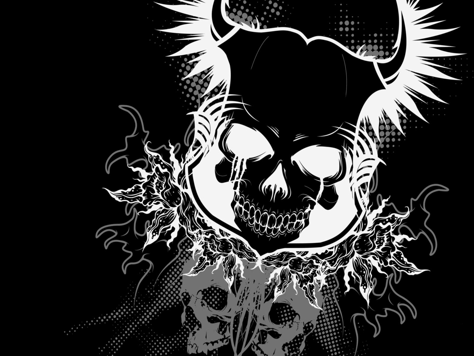 cool skulls wallpapers - wallpapersafari
