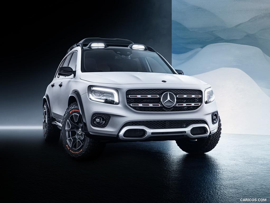 2019 Mercedes Benz GLB Concept   Front HD Wallpaper 4 1024x768