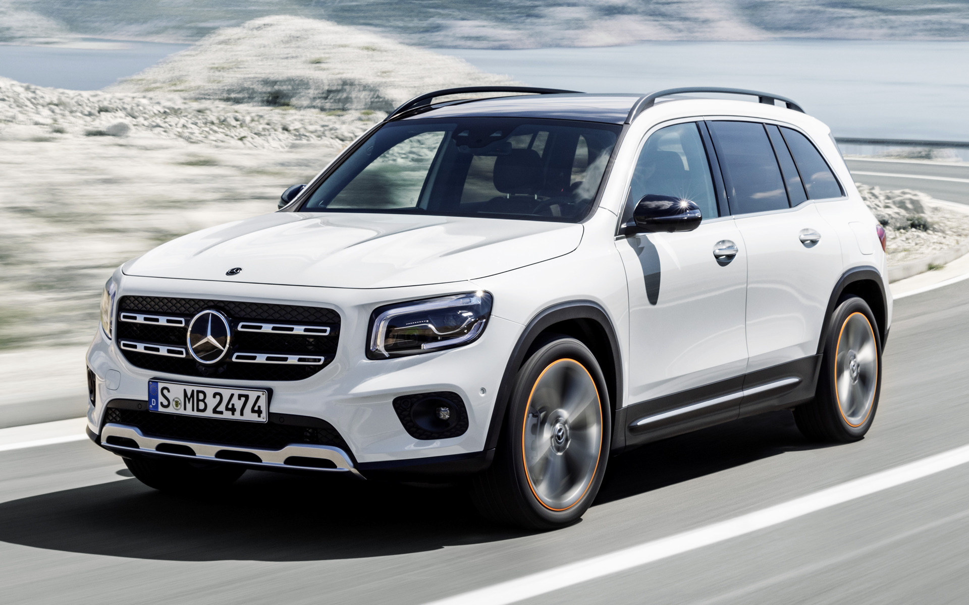 2019 Mercedes Benz GLB Class Edition 1   Wallpapers and HD Images 1920x1200