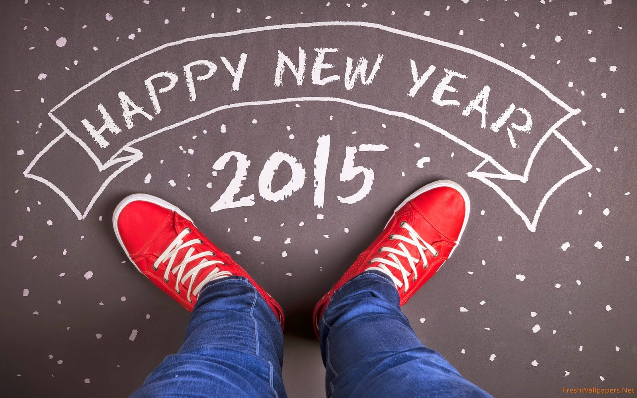 Happy New Year 2015 wallpapers Freshwallpapers 2560x1600