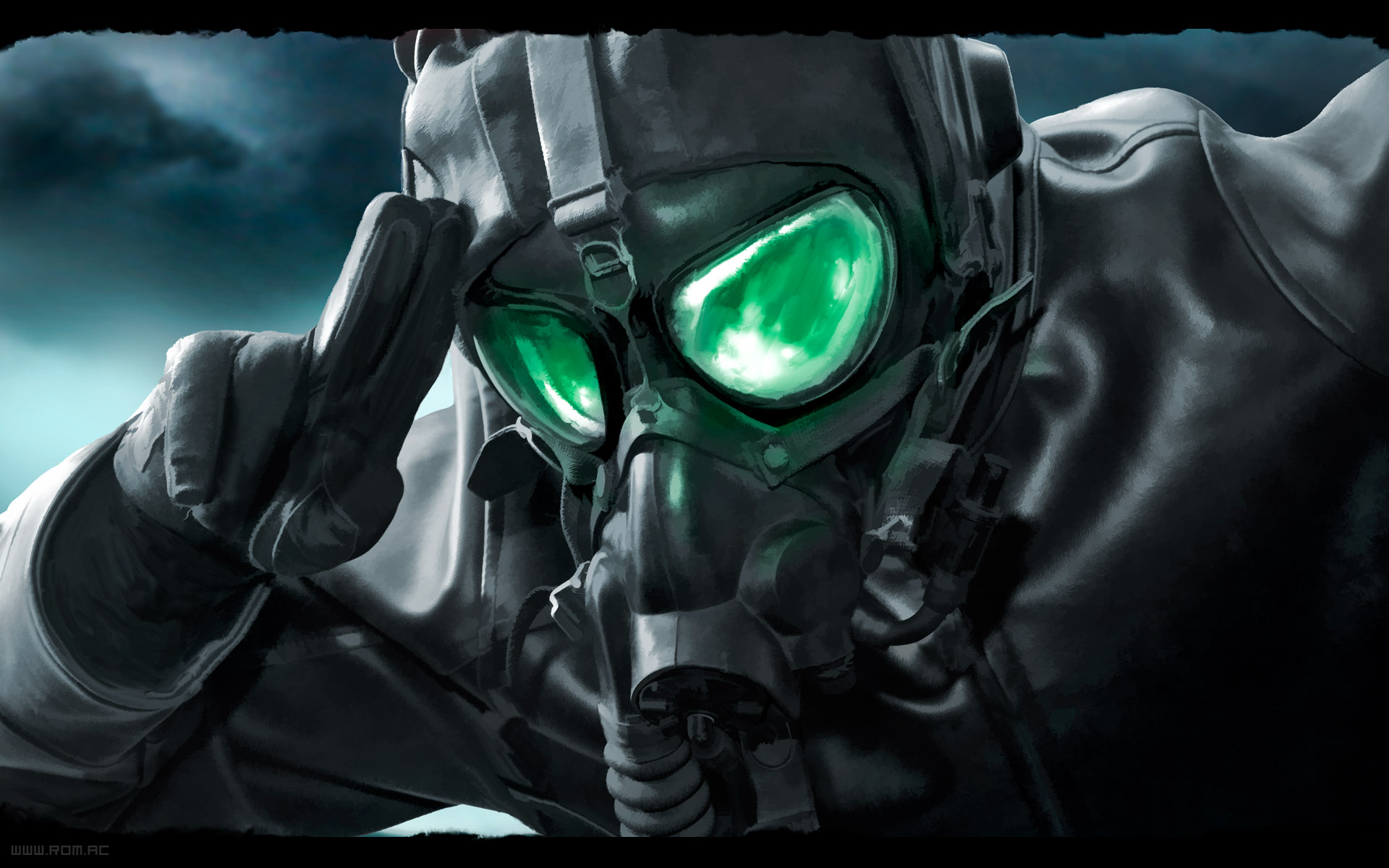 gas mask wallpaper 1920x1080