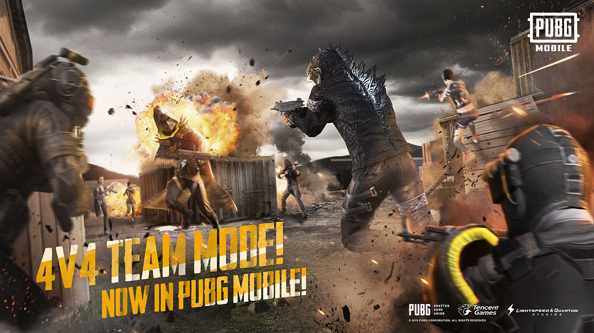 PUBG Mobile 0130 update brings 4x4 Team Deathmatch mode 1200x673