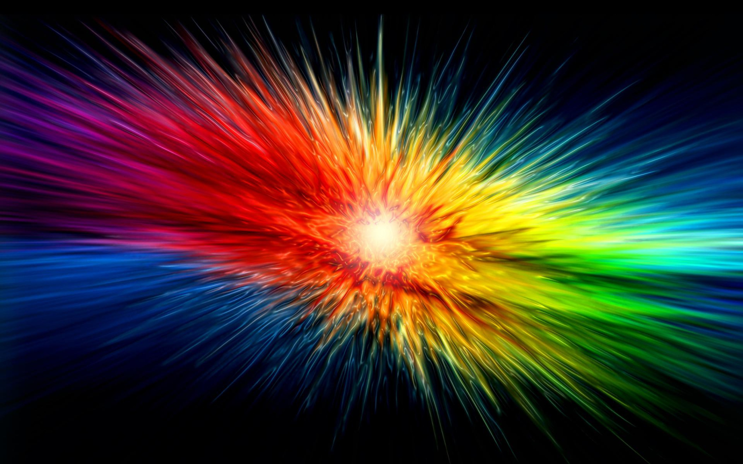 abstract colorful colorful explosion wallpaper 2560x1600