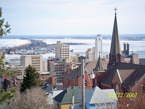 School Downtown Duluth MN in background Flickr   Photo Sharing 500x376