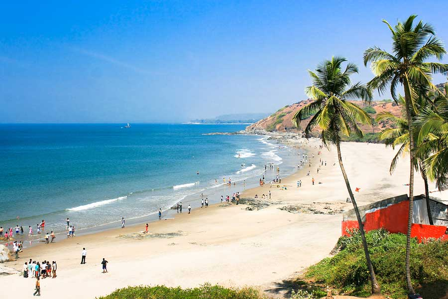 Goa Beach HD Wallpapers Backgrounds 900x600