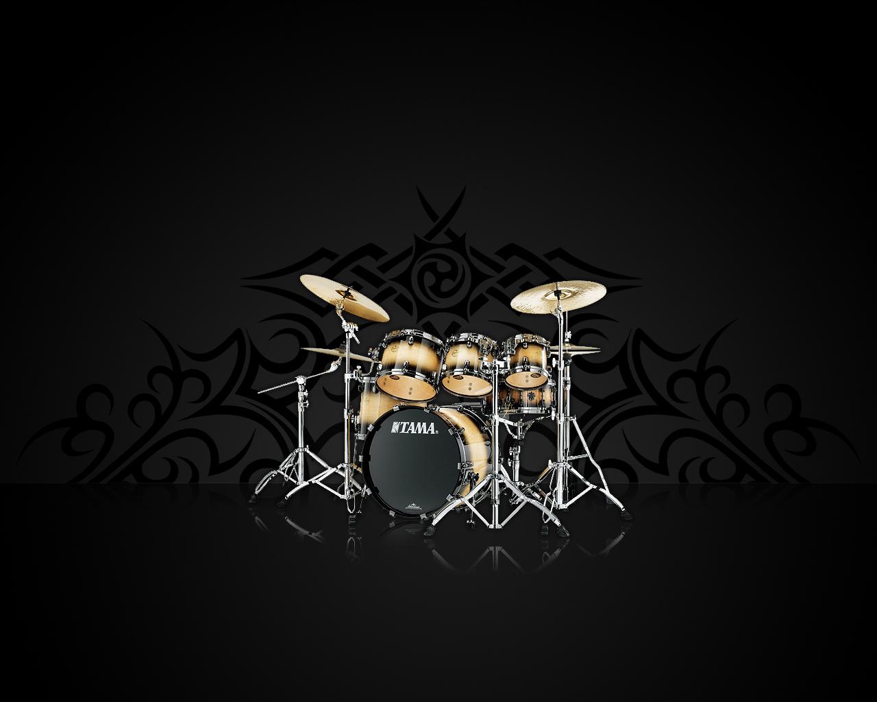 Drum Kit Wallpaper   LiLzeu   Tattoo DE 1280x1024