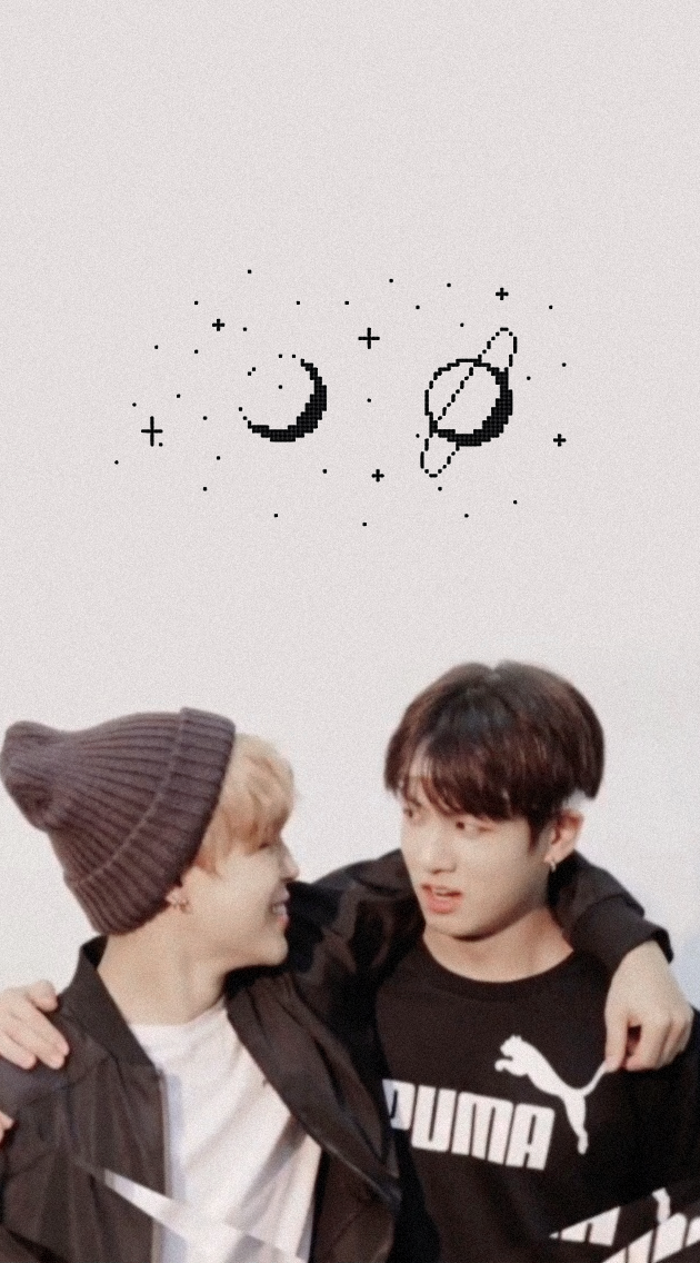 wallpapers jikook shared by yaminnie on We Heart It 630x1136