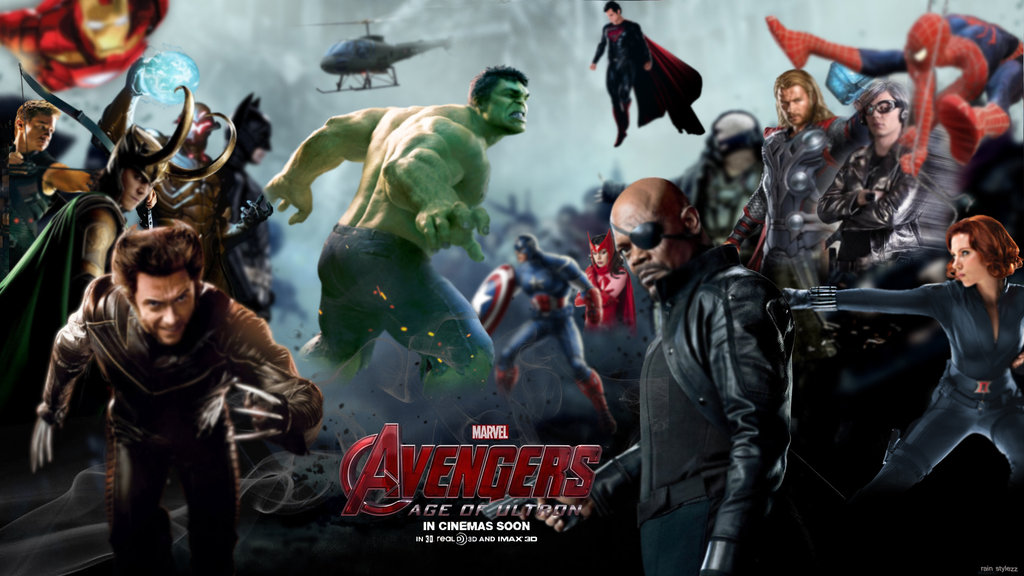 FunMozar The Avengers Age of Ultron Wallpapers 1024x576
