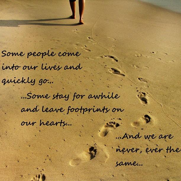 footprints in the sand poem 612x612
