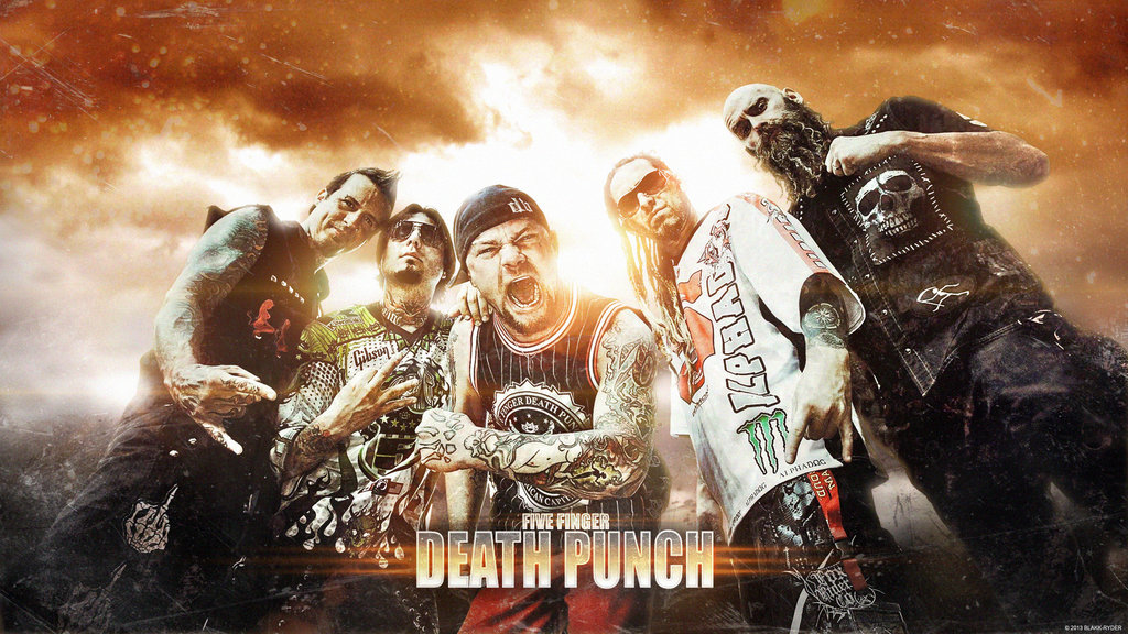 wallpaper five finger death punch wallpapersafari