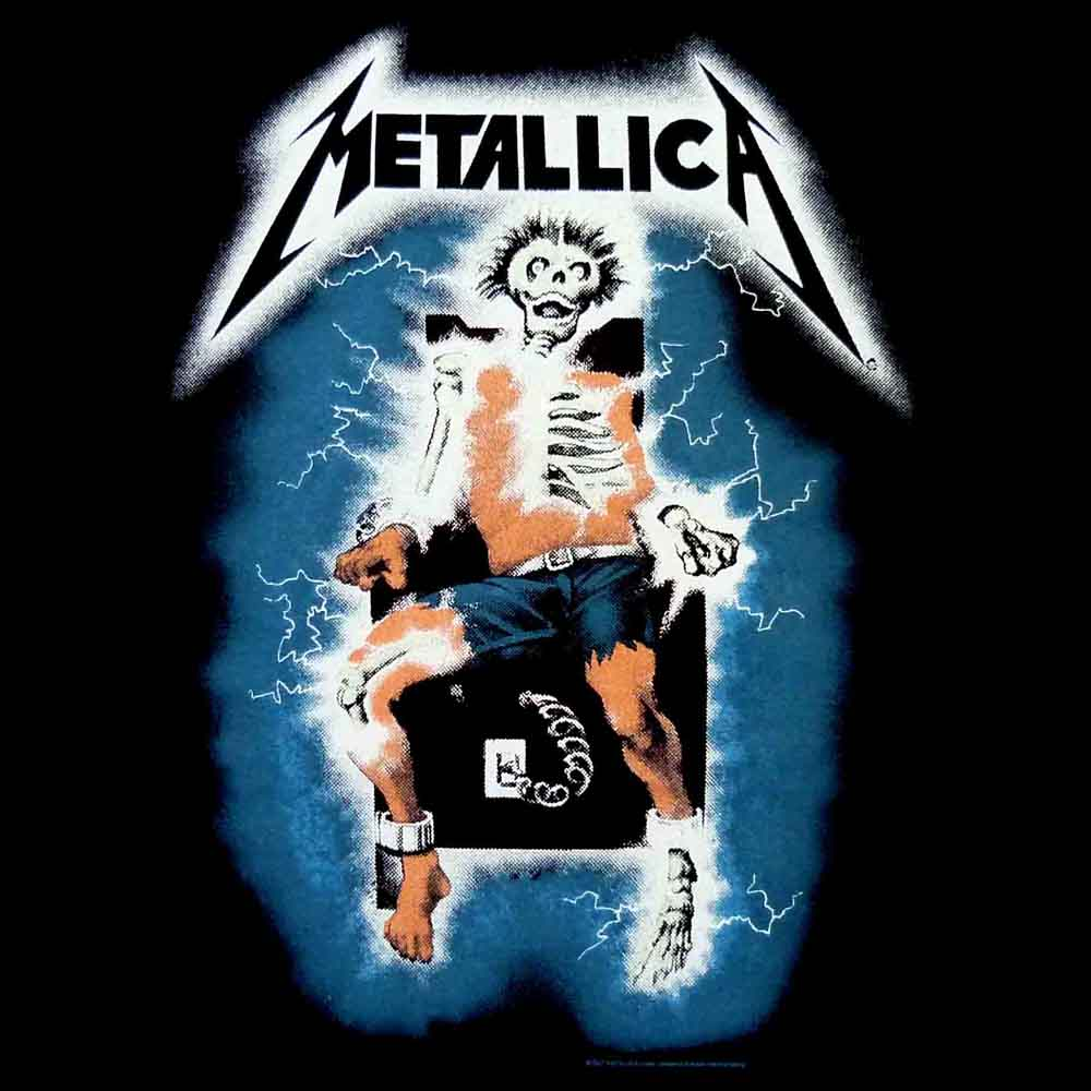Metallica Logo Ride The Lightning Metallica ride the lightning 1000x1000