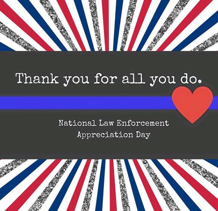 THANK YOU to all of our men and women who wear the BADGE National 720x696