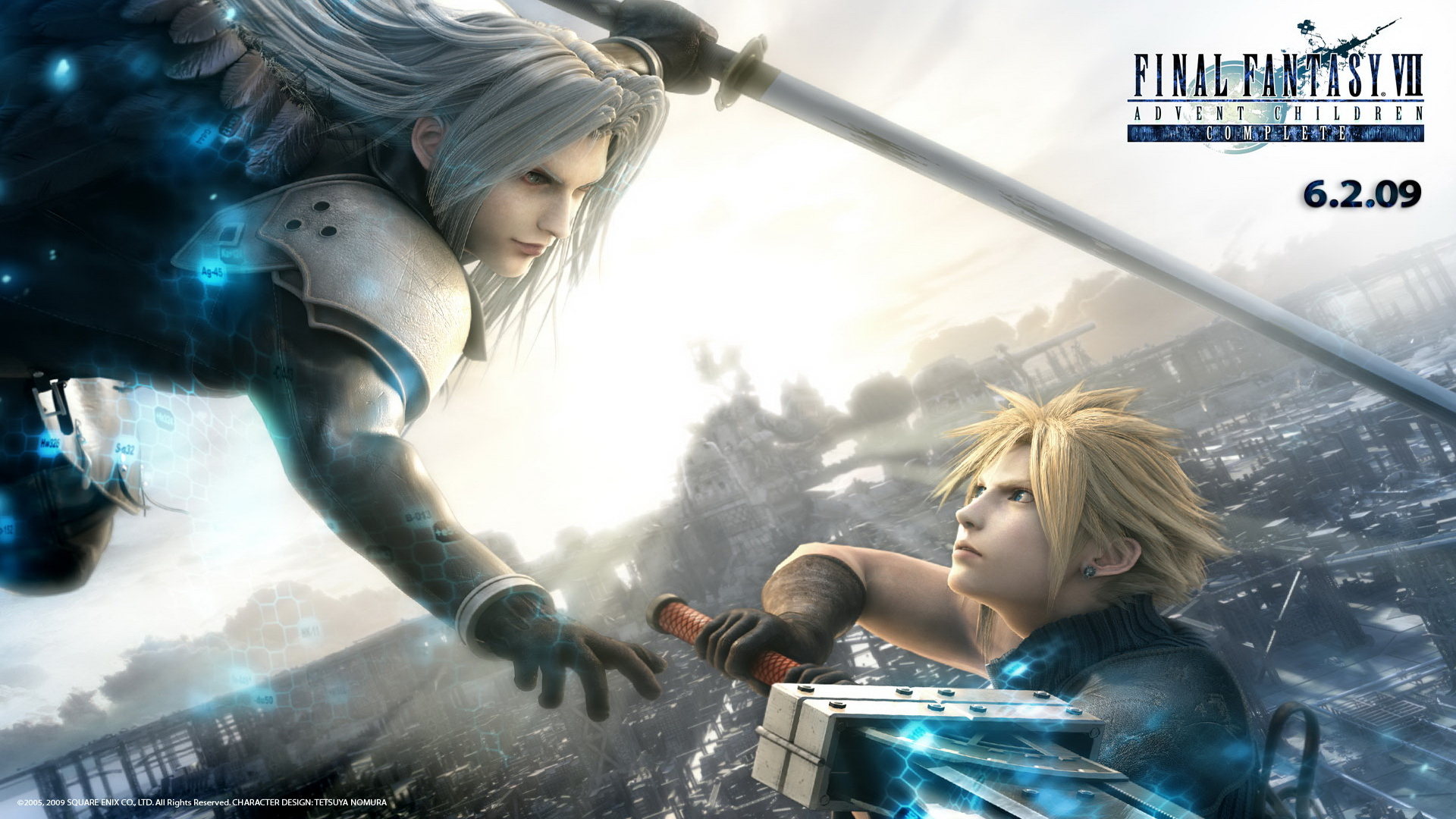Final Fantasy VII Advent Children Wallpapers Full HD 1080p HD 1920x1080