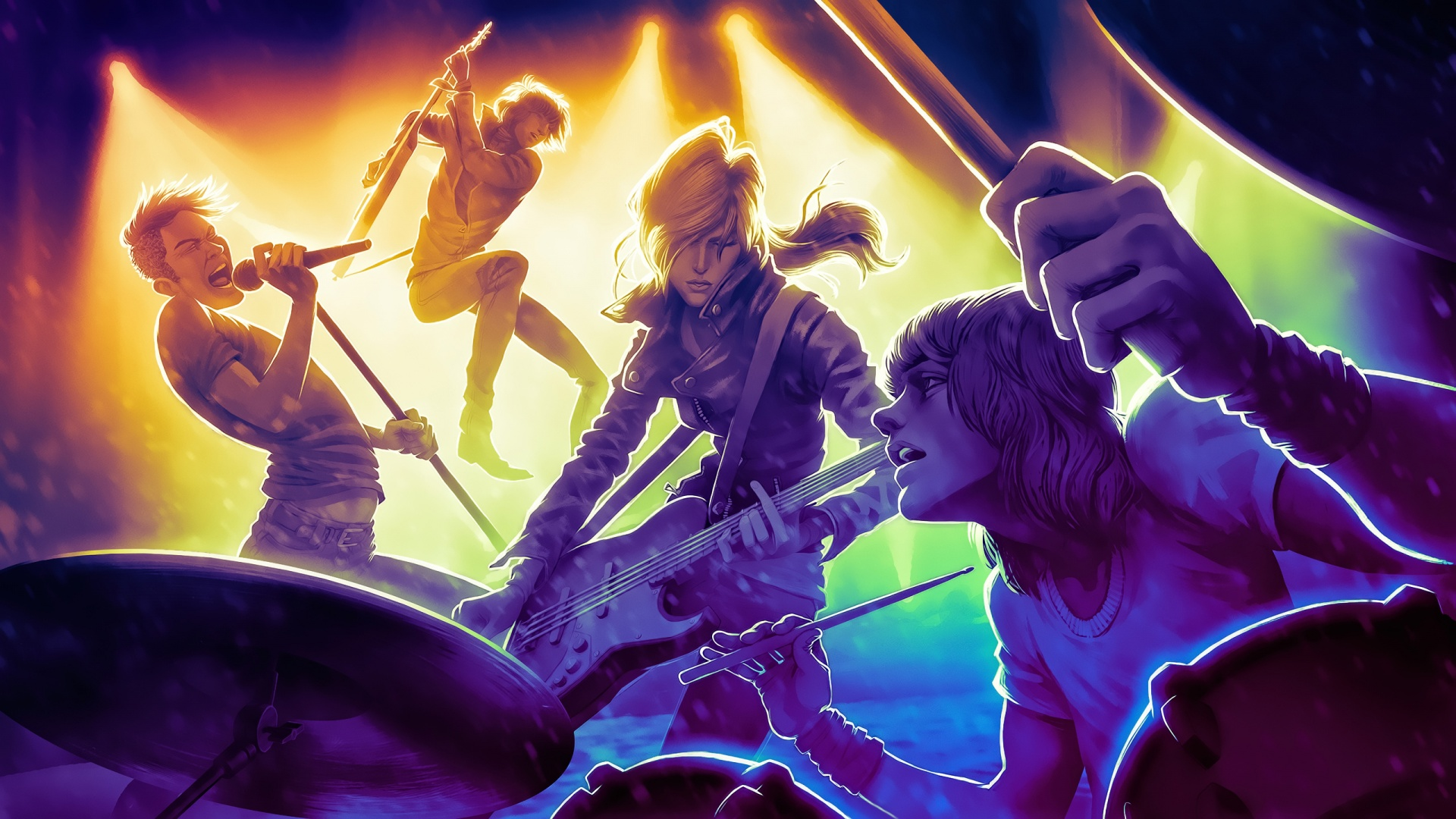 Rock Band 4 2015 Wallpapers   1920x1080   577742 1920x1080
