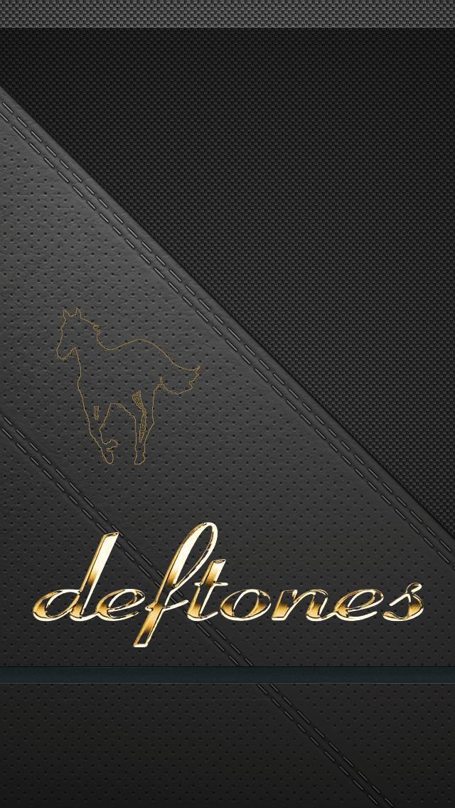 Deftones Wallpaper Hd Deftones logo iphone 5 640x1136