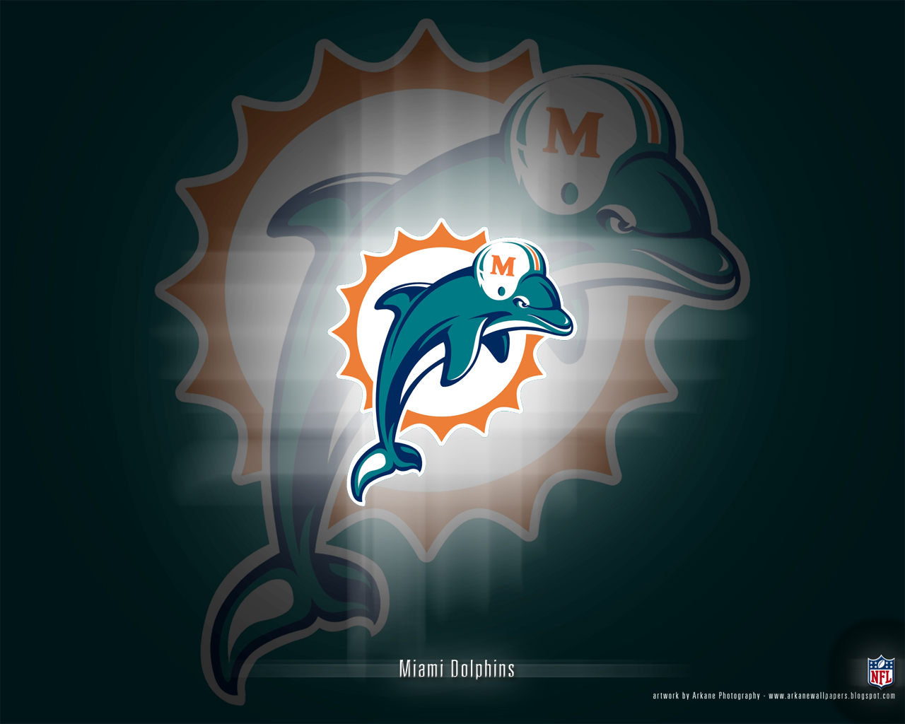 Arkane NFL Wallpapers Miami Dolphins   Vol 1 1280x1024
