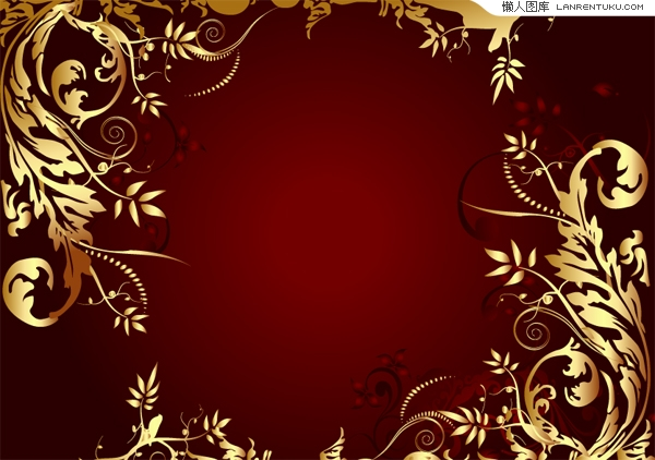 Gold And Black Leaf Wallpaper Border 16 Widescreen Wallpaper 600x422
