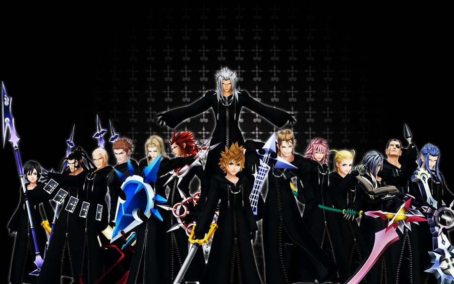 Free Download Kingdom Hearts Organization 13 Wallpaper