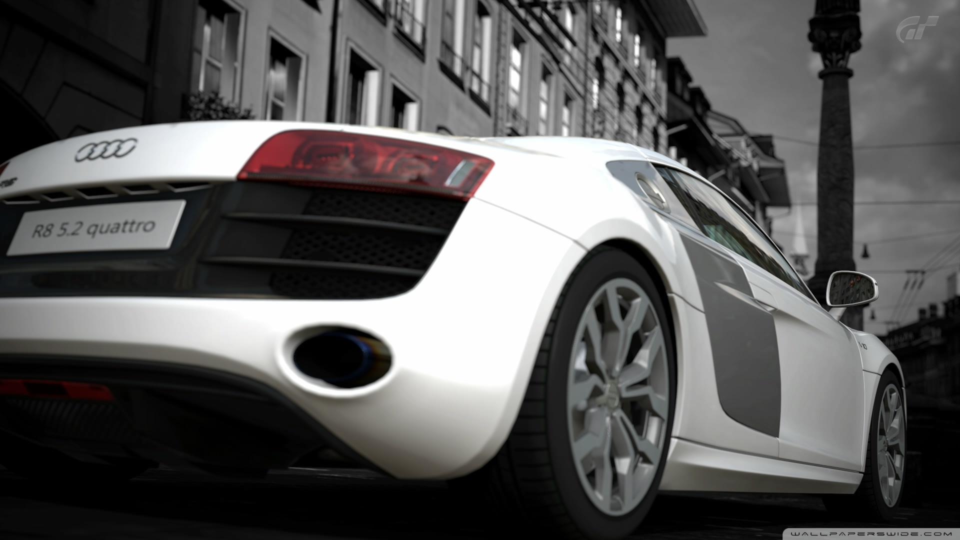 Audi R8 4 Wallpaper 1920x1080 Audi R8 4 1920x1080