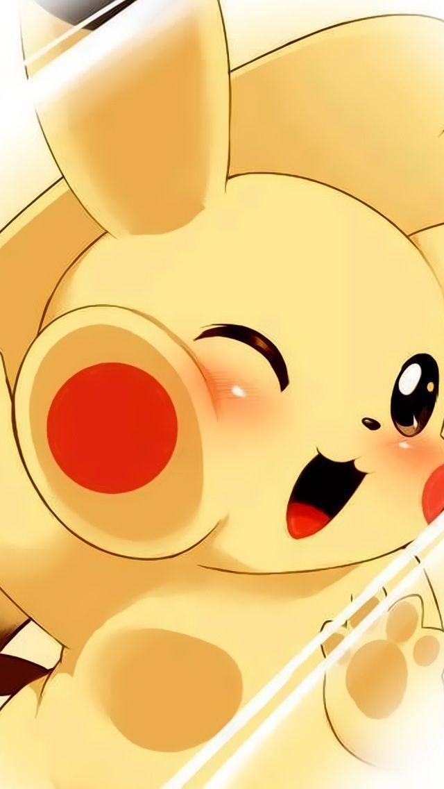 Cute Pikachu iPhone wallpapers mobile9 chibi kawaii pokemon 640x1136