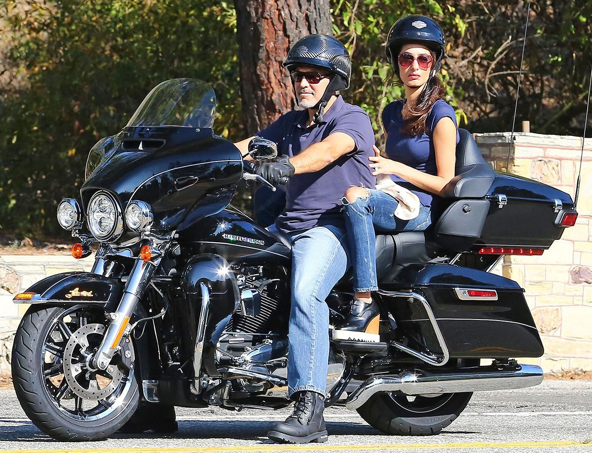 George and Amal Clooney Are CoupleGoals Cruising Around LA on a 1200x920