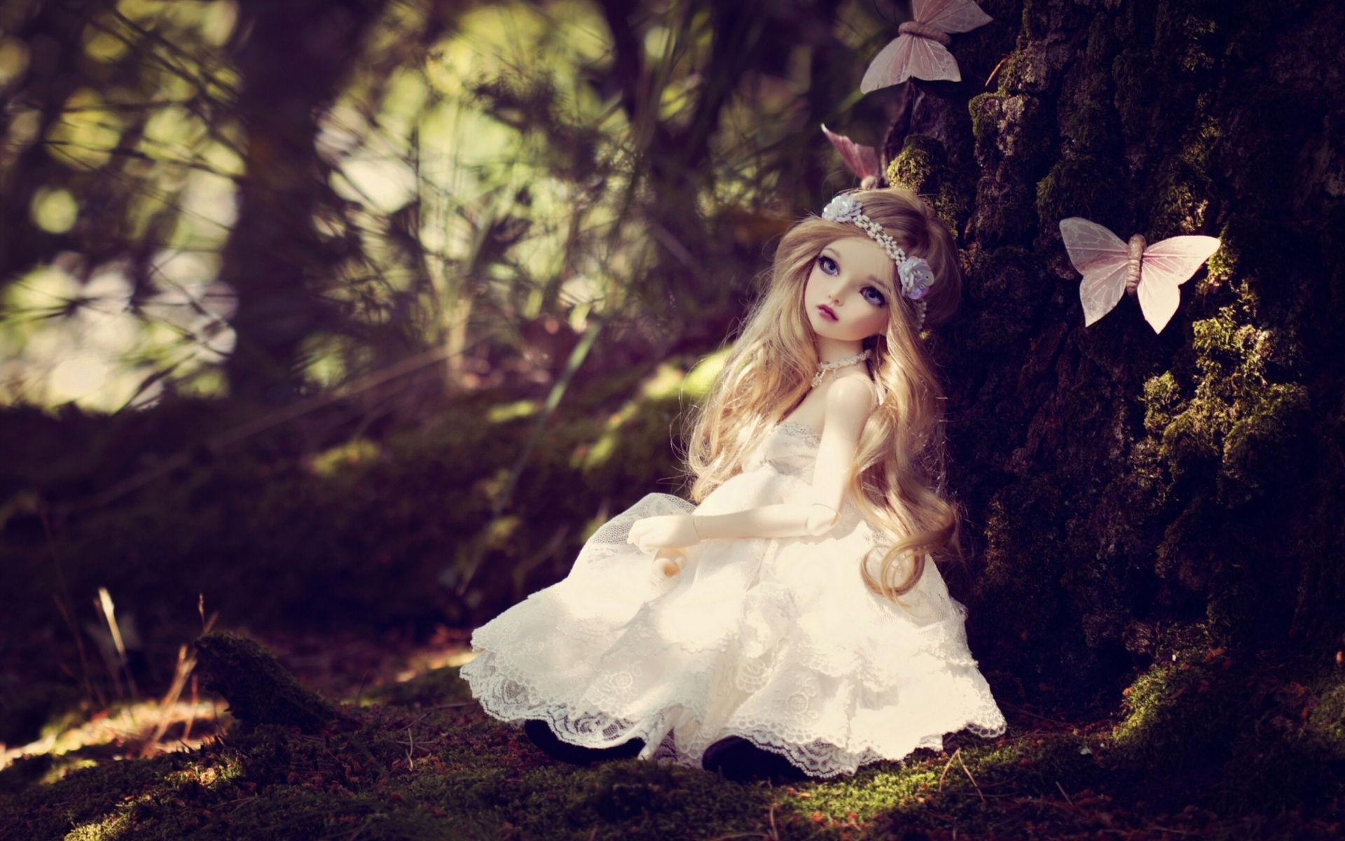 14 Hd Beautiful Doll Wallpapers On Wallpapersafari