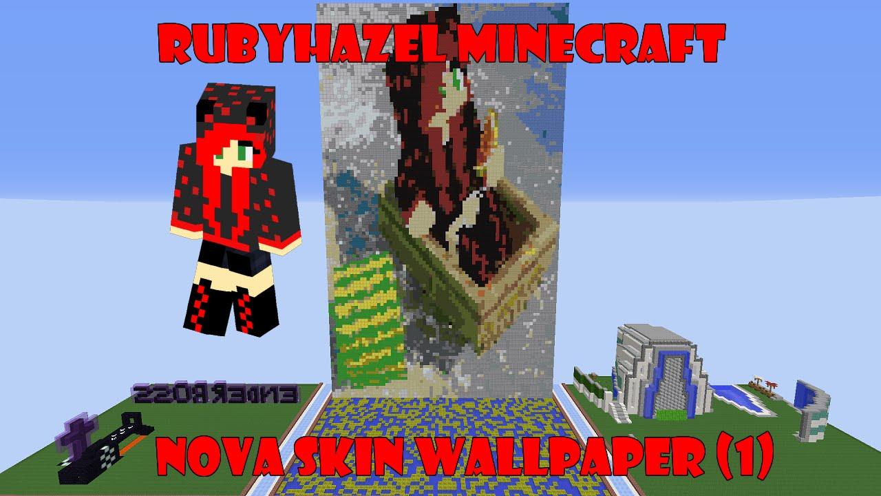 Minecraft Nova Skin Wallpaper Pixel art 1 1280x720