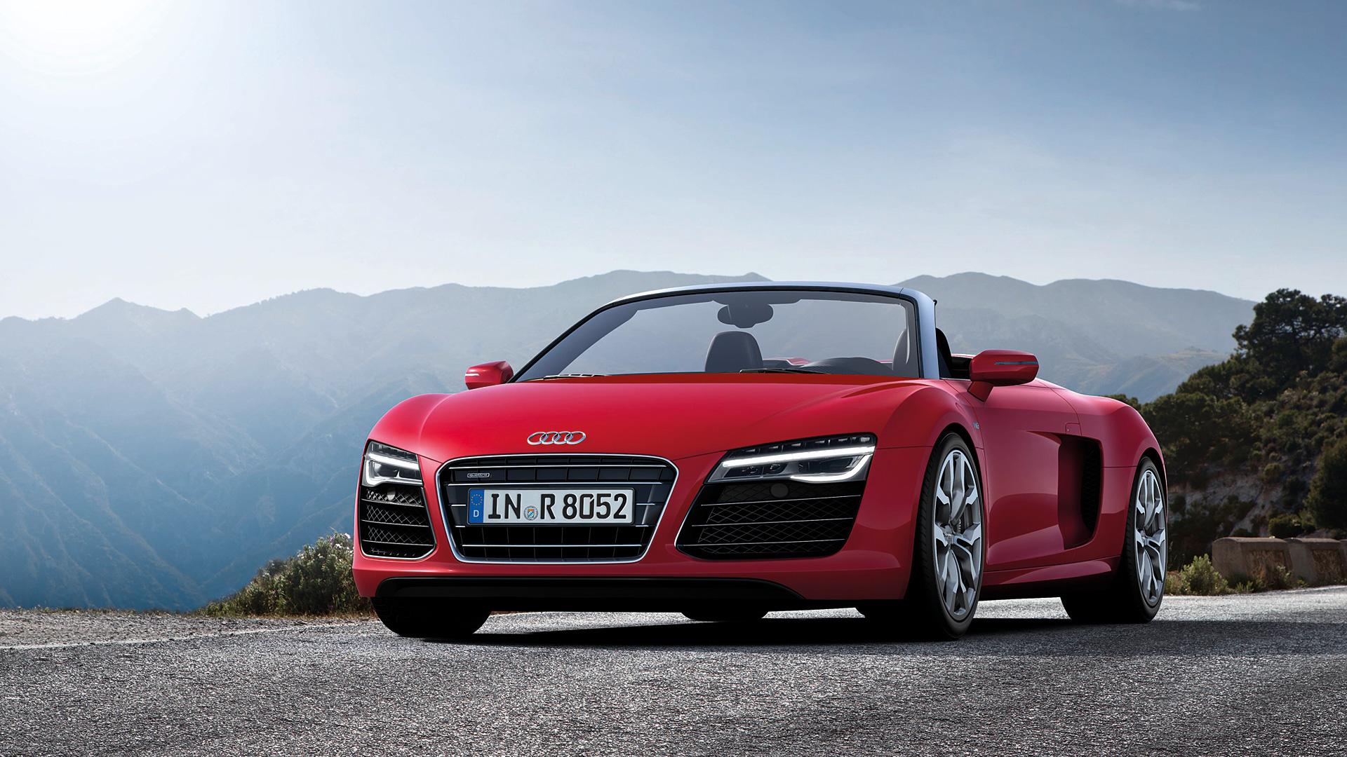 2013 Audi R8 V10 Spyder Wallpapers amp HD Images   WSupercars 1920x1080