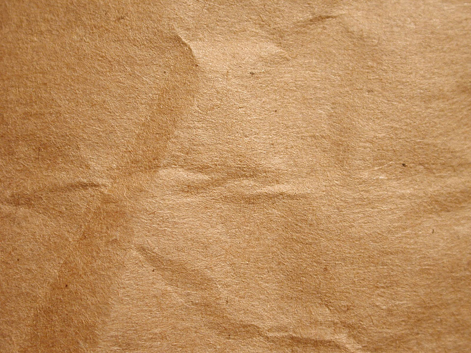 Download Texture Paper Brown Wrinkled Cardboard 960x720