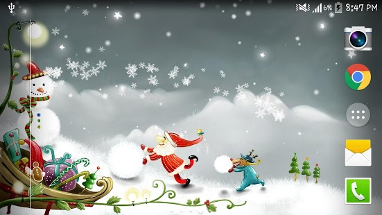 Christmas Snow Live Wallpaper   Android Apps on Google Play 551x310