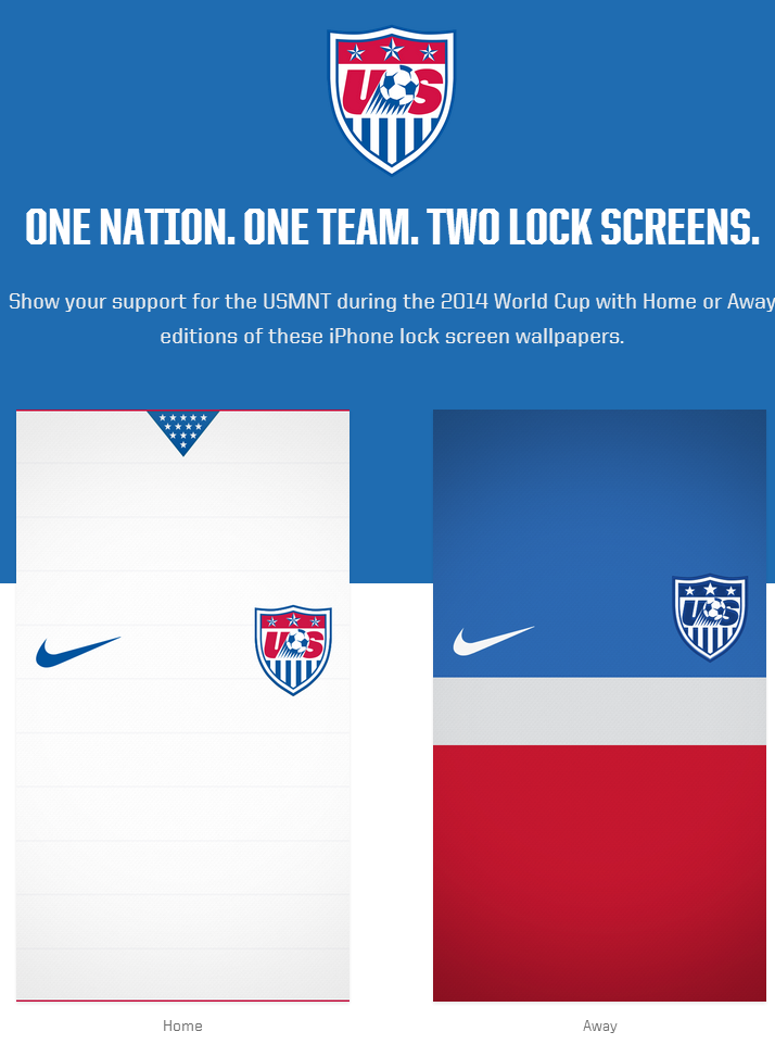 US Soccer Wallpapers for iPhone Mike and Rich in South America 714x973
