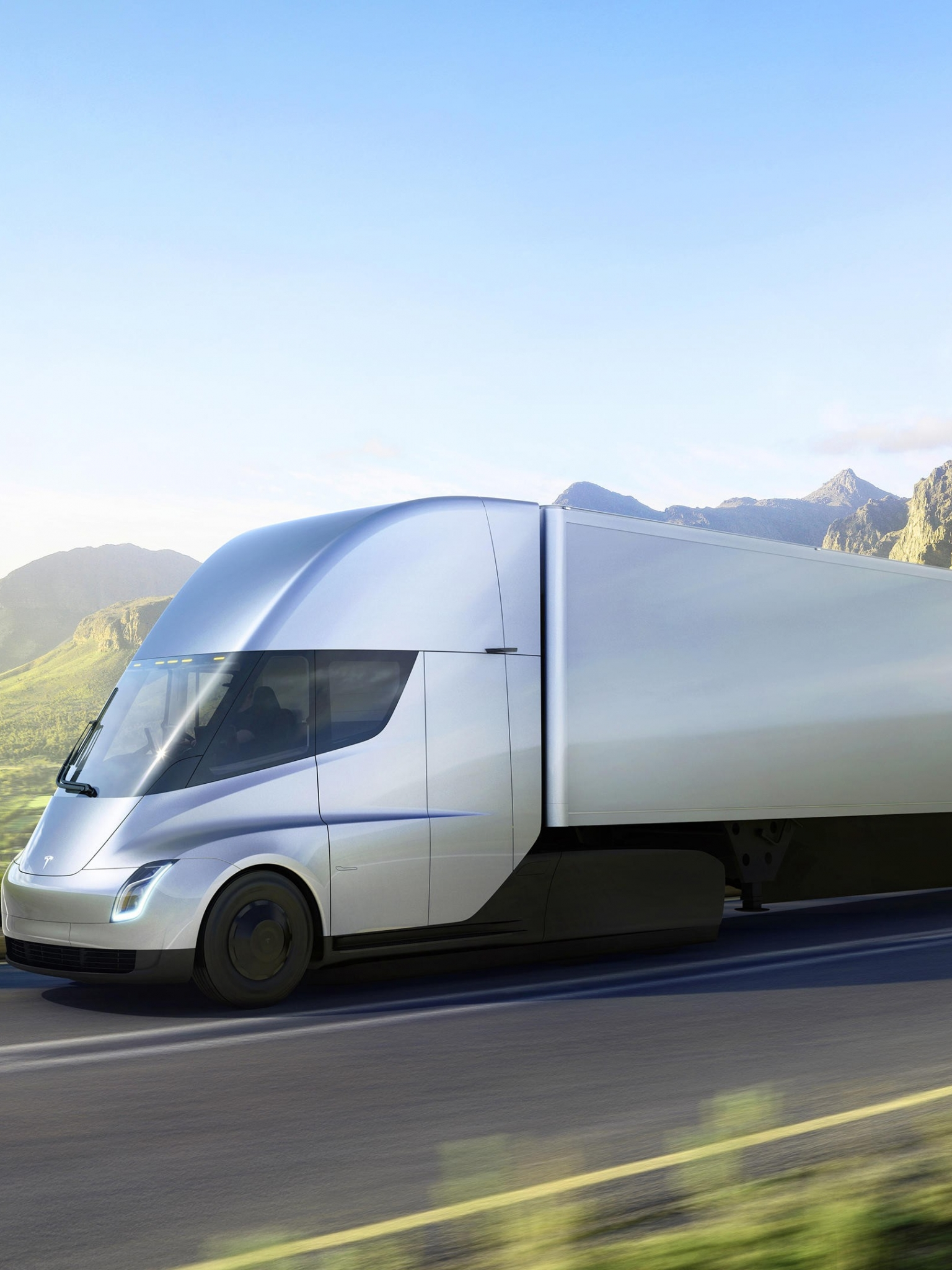 37+ Tesla Truck Wallpapers on WallpaperSafari