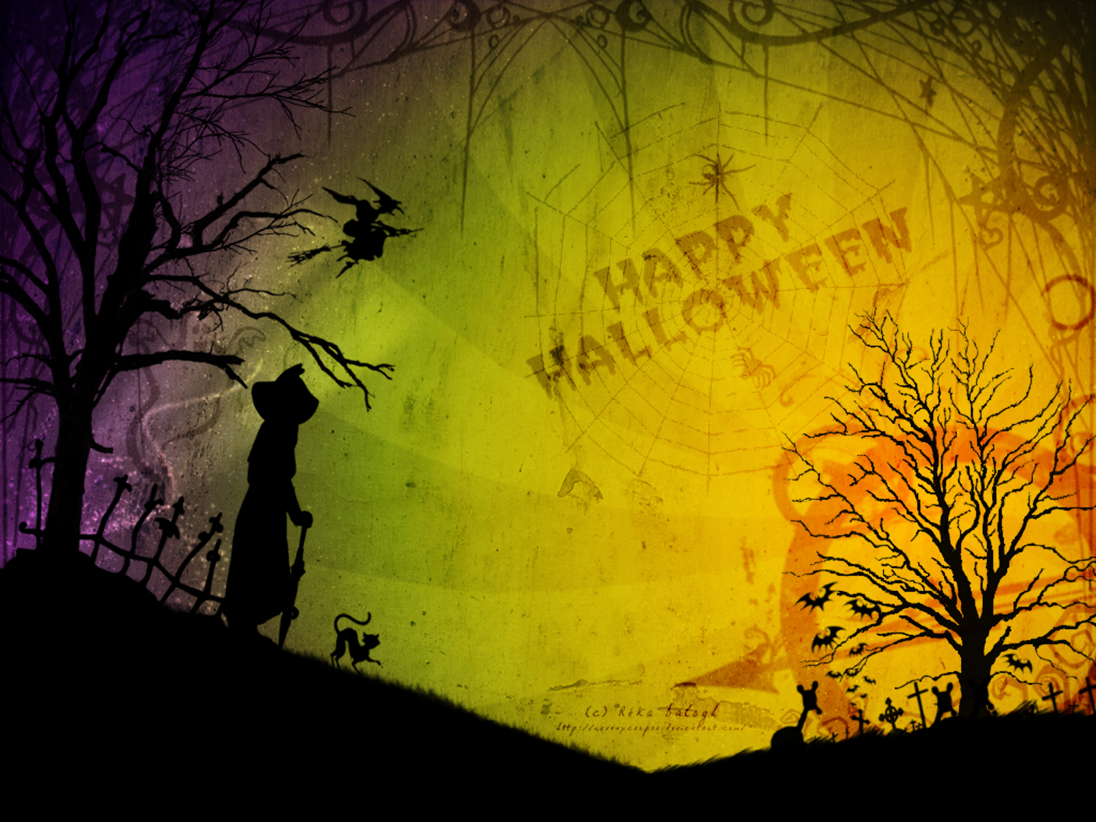 30 Scary Halloween Desktop Wallpapers Best Design 1600x1200