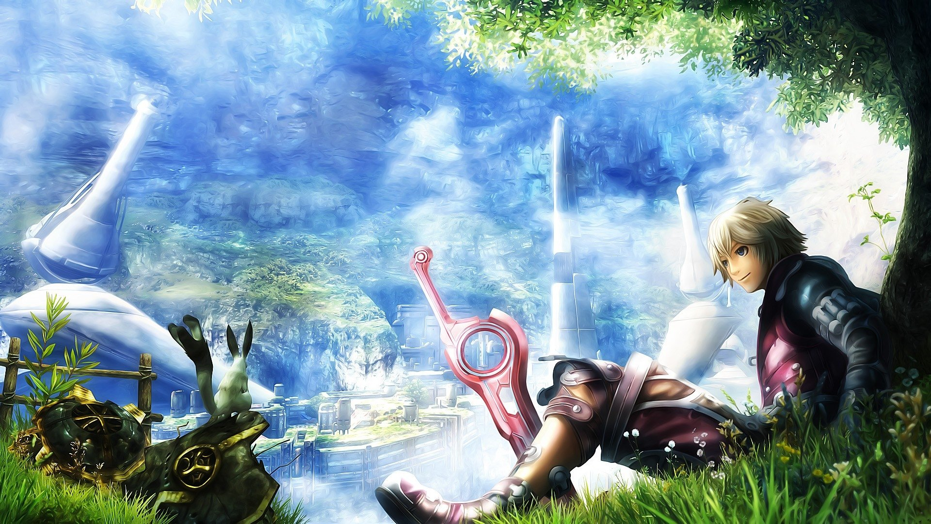 Xenoblade Chronicles HD Wallpaper Background Image 1920x1080 1920x1080