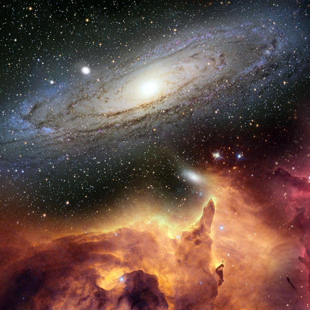 Wallpaper space galaxy pictures wallpapersafari - Cool space wallpapers ...