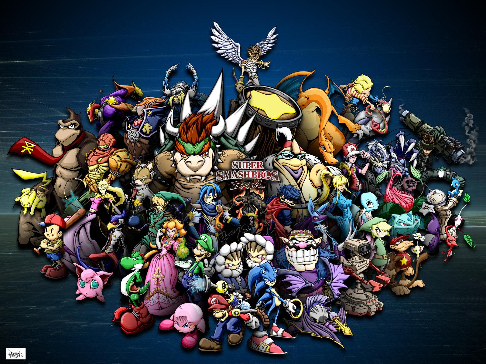 50 Super Smash Bros Melee Wallpaper On Wallpapersafari