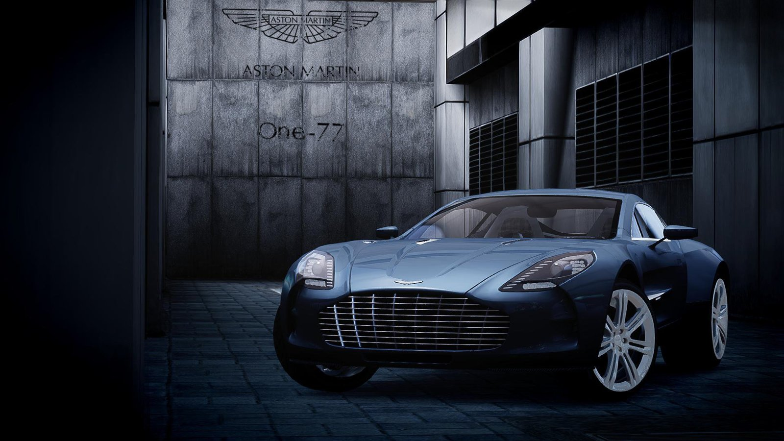 Aston Martin One 77   Wallpaper HD by ALIM16 on deviantART 1600x900