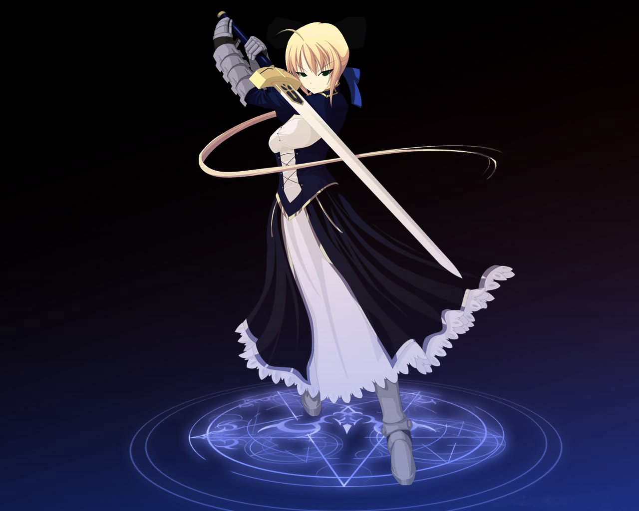 Saber   Fate Stay Night Wallpaper 24684502 1280x1024