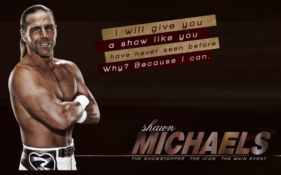 Shawn Michaels Wallpaper by bigheadkyle2 on deviantART 900x563