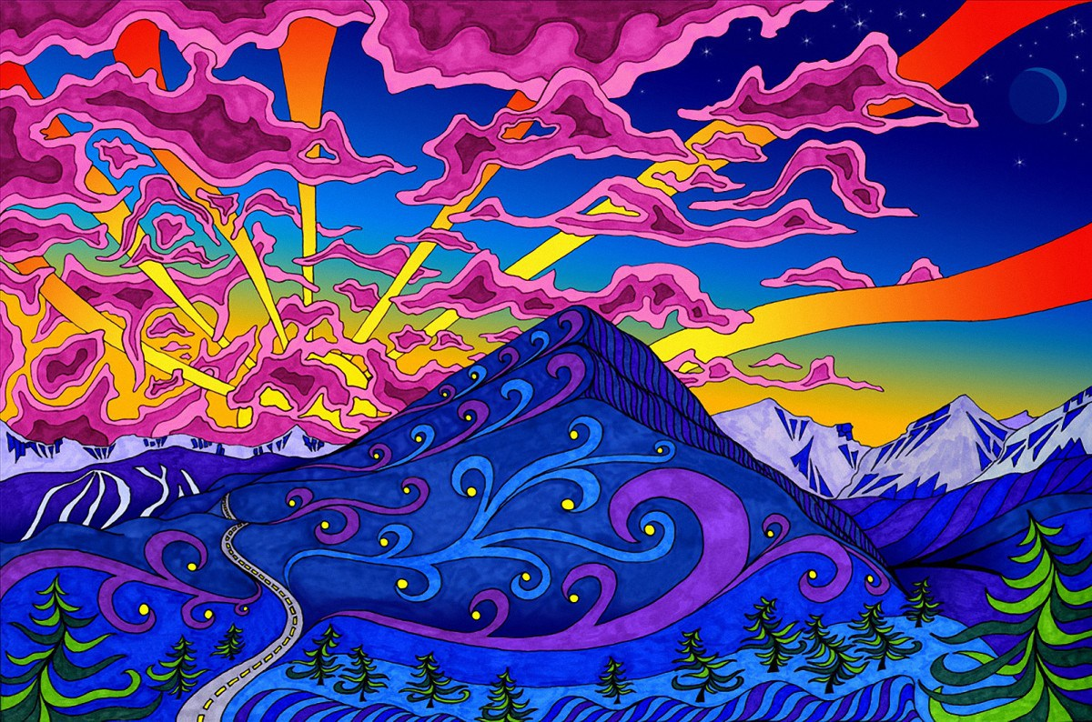 40 Psychedelic and Trippy Backgrounds for your desktop 1200x794
