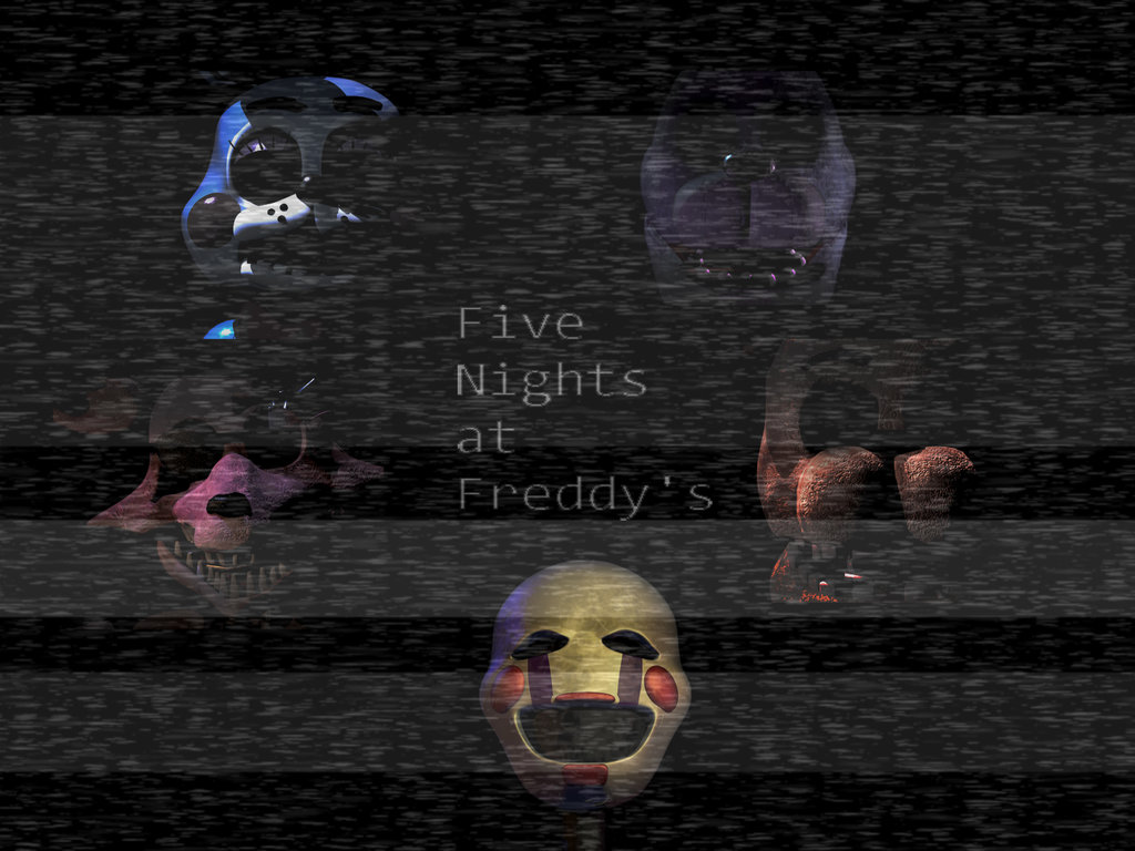 FNAF 2 wallpaper4 1 by ScarsToupe 1024x768